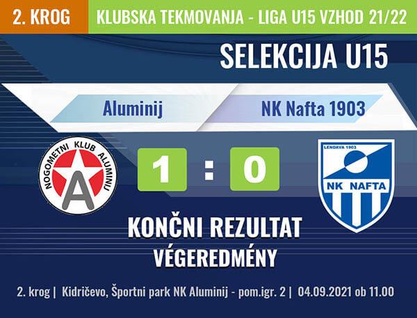 2. KROG U15 2021-2022