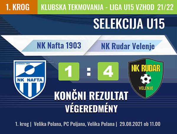 1. KROG U15 2021-2022